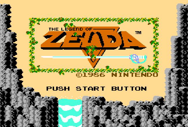 tela-título do jogo