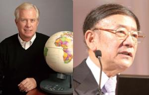 Tom Kalinske e Hayao Nakayama
