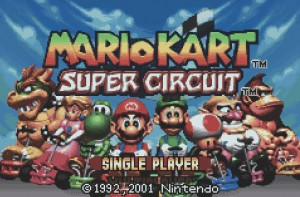 Mario Kart Super Circuit, Game Boy Advance