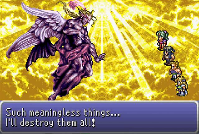 Final Fantasy III Kefka quote