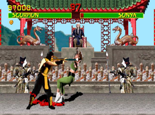 Mortal Kombat (arcade) Scorpion quote