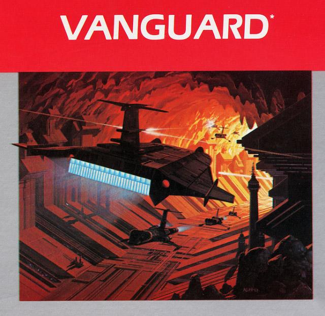 Vanguard Atari 2600 art