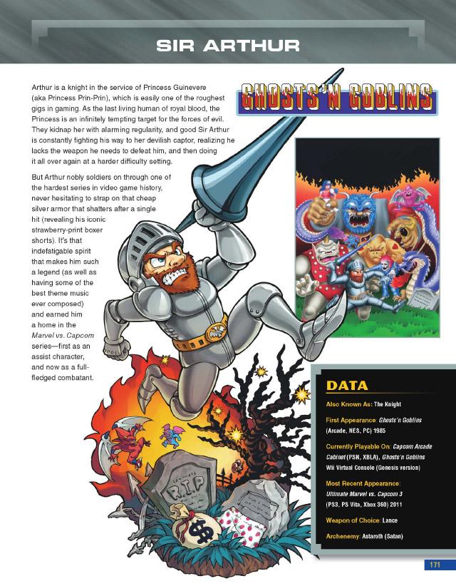 Capcom Encyclopedia Sir Arthur