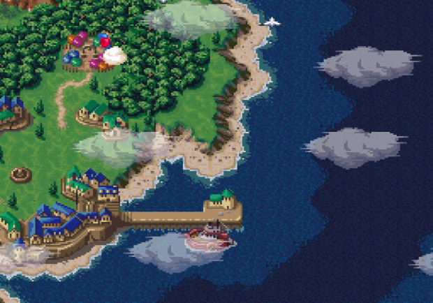 Chrono Trigger - Guardia, ano 1000 AD