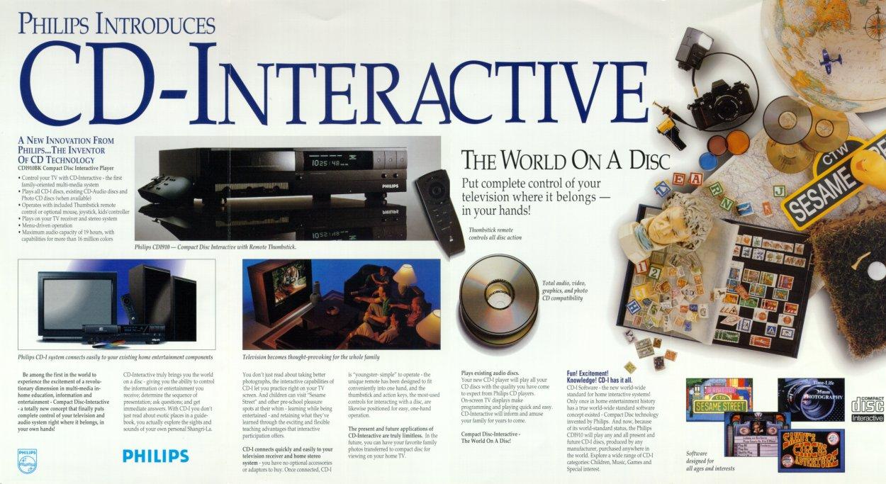 Philips CD-i ad