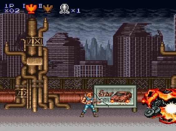 Contra III (1993)
