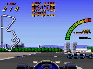 SNES Nigel Mansells World Championship