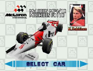 Sega Saturn F1 Challenge
