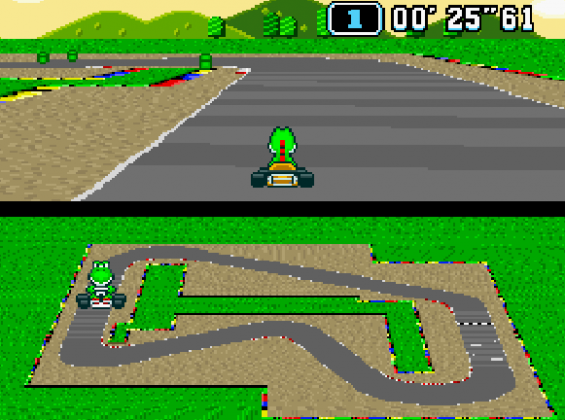 Super Mario Kart (1992)
