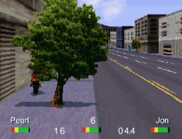 Road Rash 3DO - detalhe