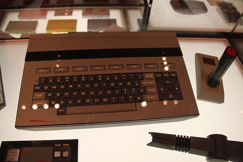 Nintendo AVS keyboard