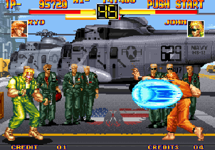Art of Fighting - Ryo x John