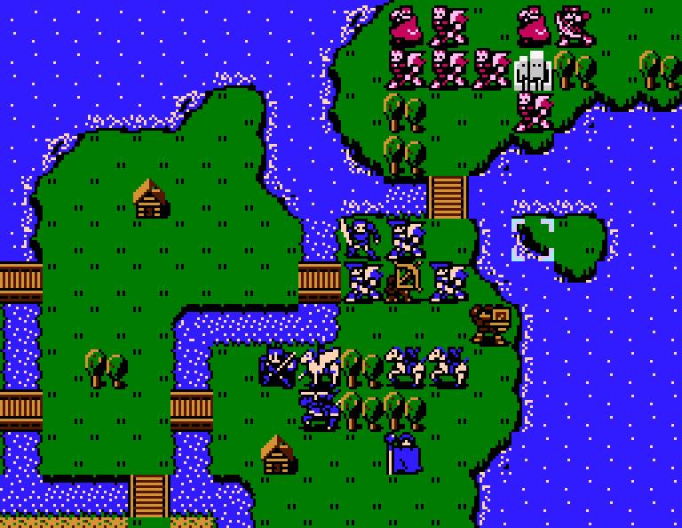 Fire Emblem: Shadow Dragon and the Blade of Light no NES