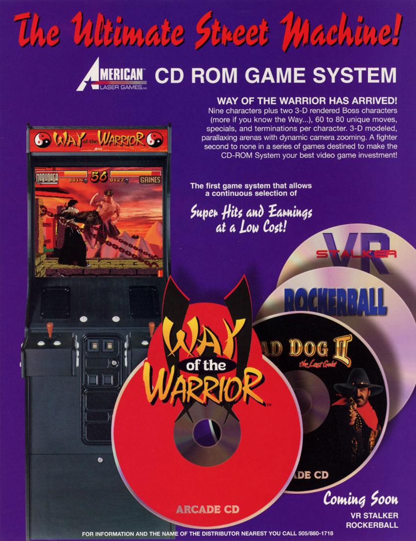 arcade way of the warrior